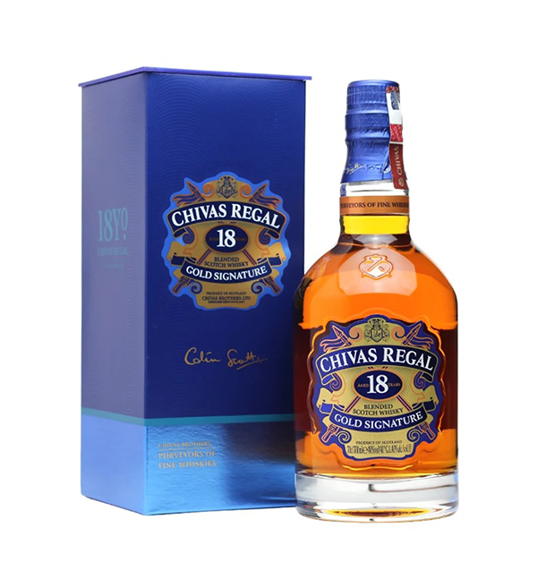 Chivas Regal Gold Signature 18 Year 2017