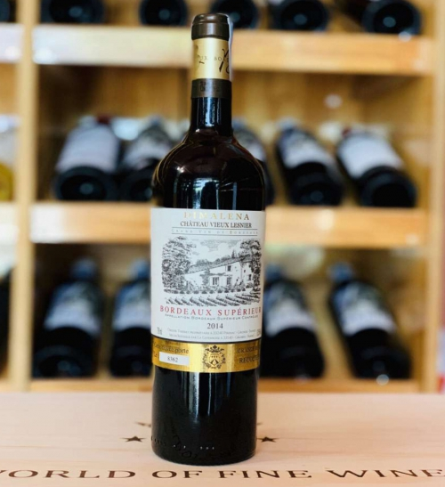 Rượu Vang Chateau Vieux Lesnier 2019